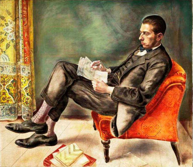 George Grosz. Portrait of Dr. Felix Weil