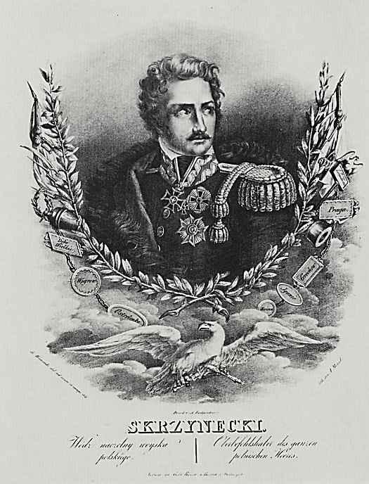 Адольф фон Менцель. Портрет польского военачальника Скржинецкого