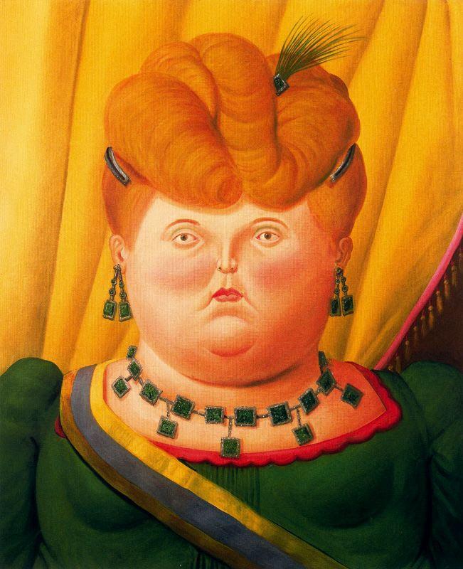 Fernando Botero. First lady