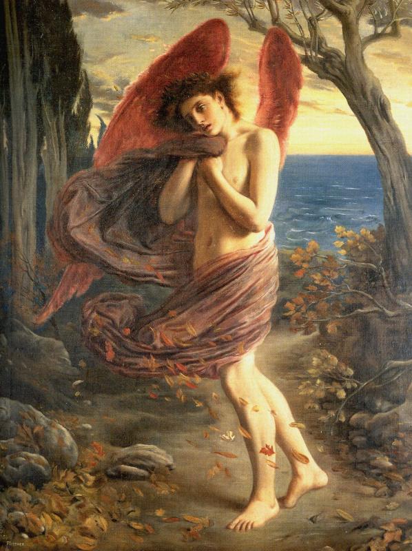 Симеон Соломон. Любовь осенью