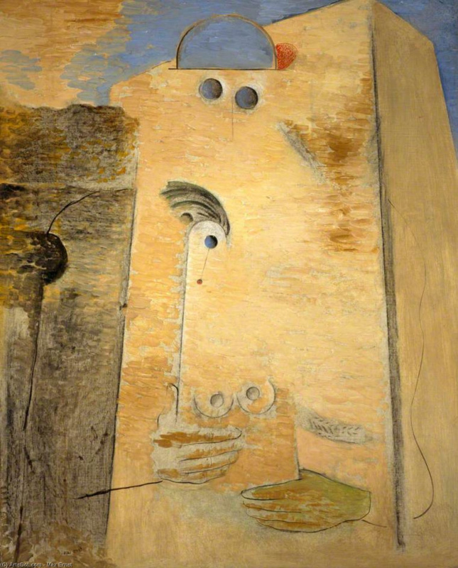 Max Ernst. The great lover
