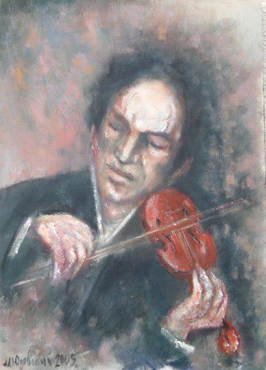 """Michael Yudovsky. """"Fiddler""""."""