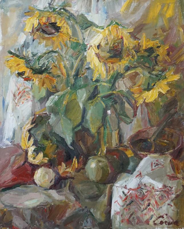 Valerij Ivanovich Sosna. Sunflowers