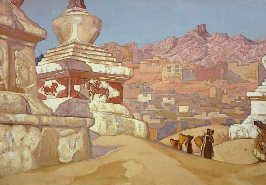Nicholas Roerich. Horse happiness