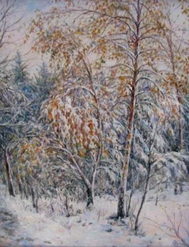 Mikhail Stanislavovich Rzheutsky. Нежданный снег