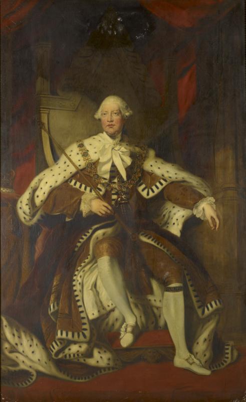 Joshua Reynolds. George III