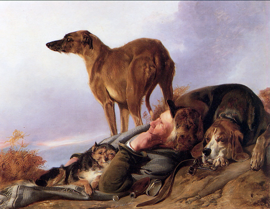 A Man And His Dog >> Man And His Dog By Richard Ansdell History Analysis Facts