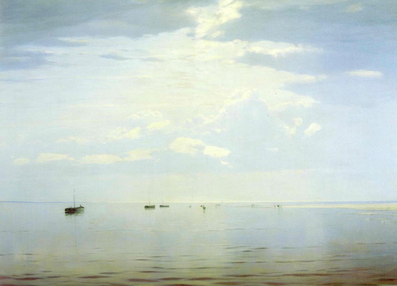 Nikolay Dubovskoy. On The Volga