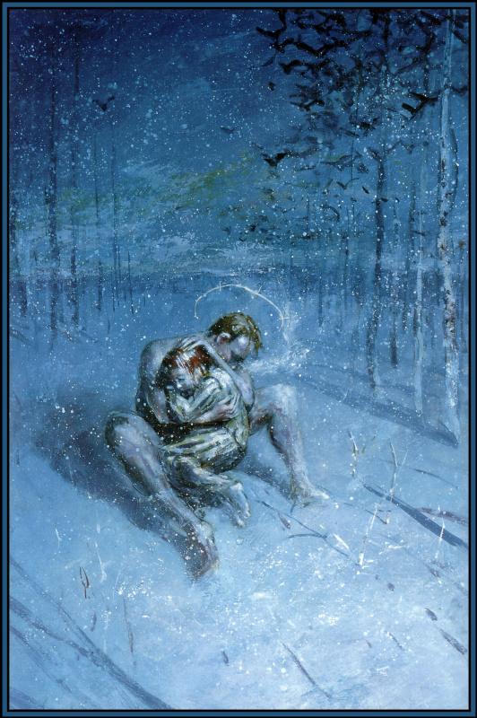 Джордж Пратт. Мороз в лесу