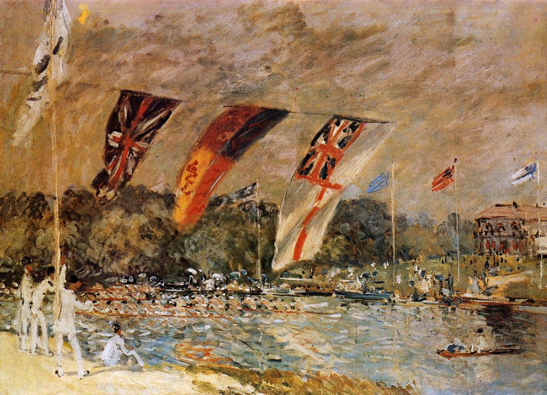Alfred Sisley. Regatta Molesi