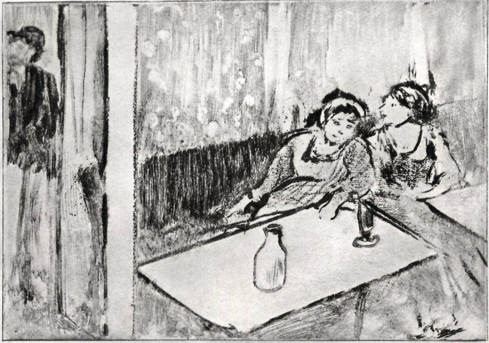 Эдгар Дега. Женщины в кафе