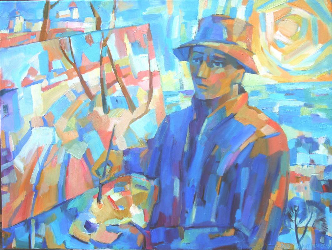 Irina Valerievna Antonovskaya. Artist