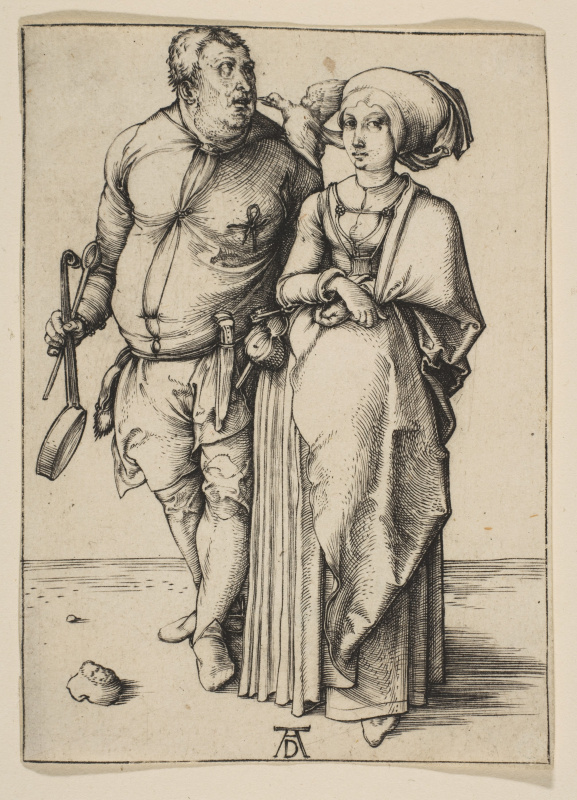 Albrecht Durer. The chef and his wife