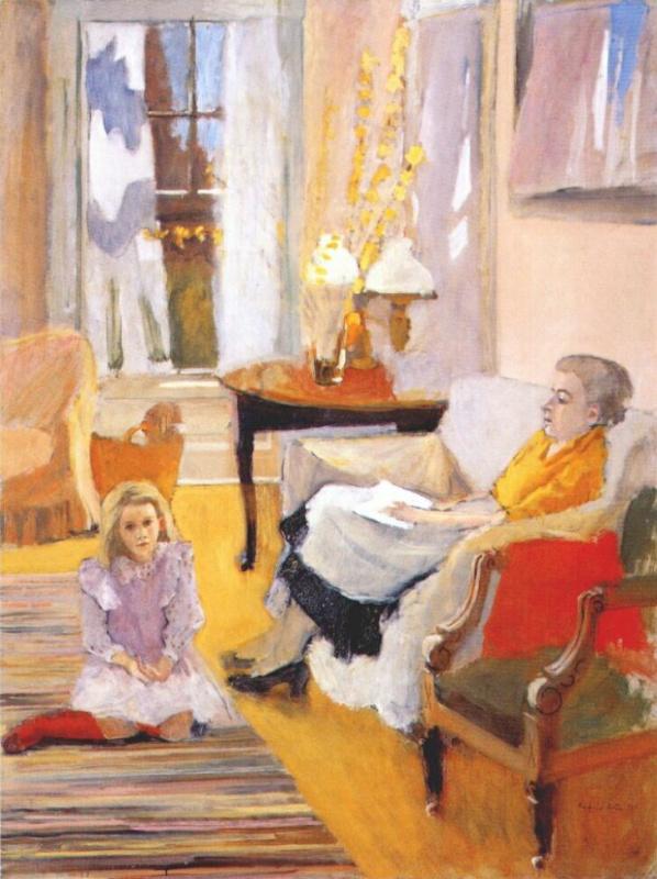 Женщина и маленькая девочка