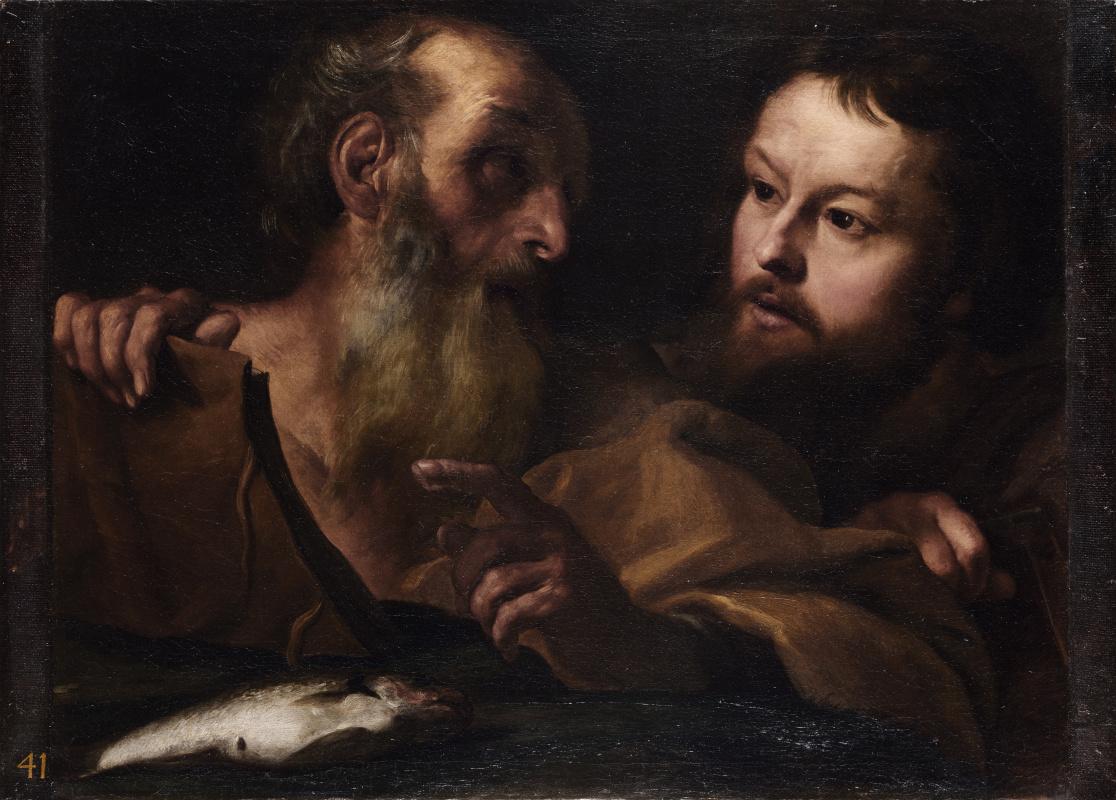 Лоренцо Бернини Джан. Святые Андрей и Томас