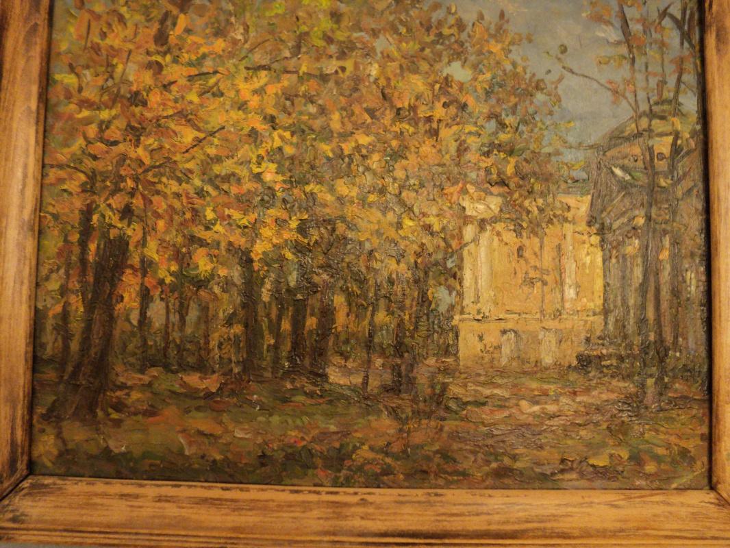 Fall in Ostankino