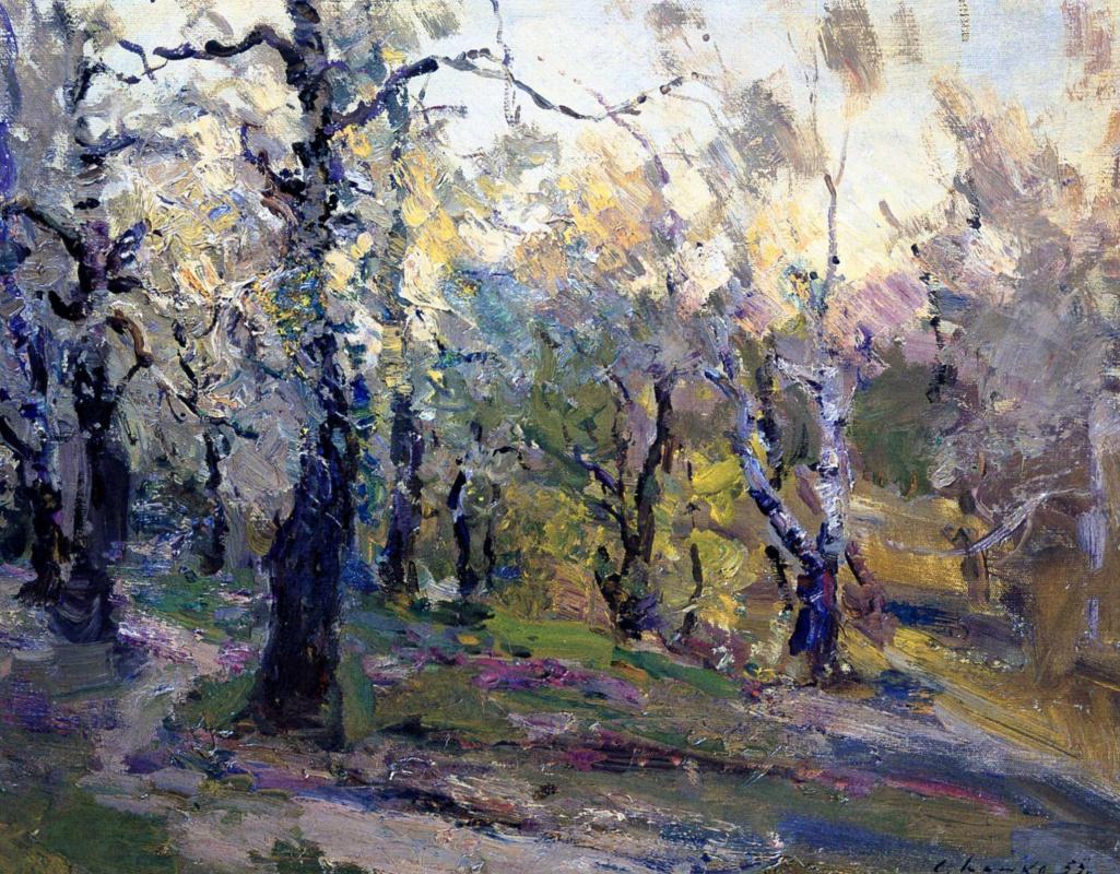Sergey Fedorovich Shishko. Spring. Dawn.