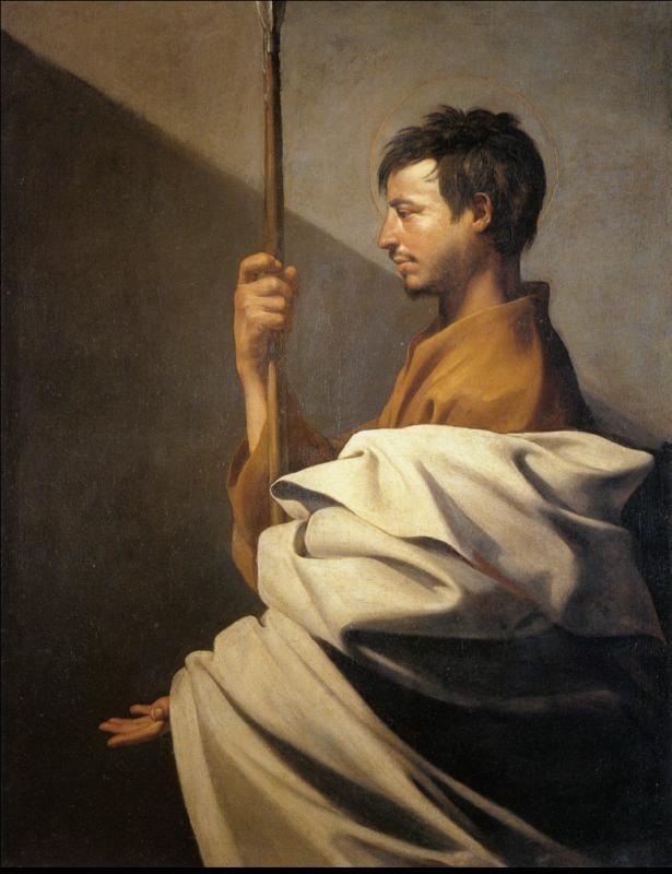 Хосе де Рибера. Святой апостол Фома