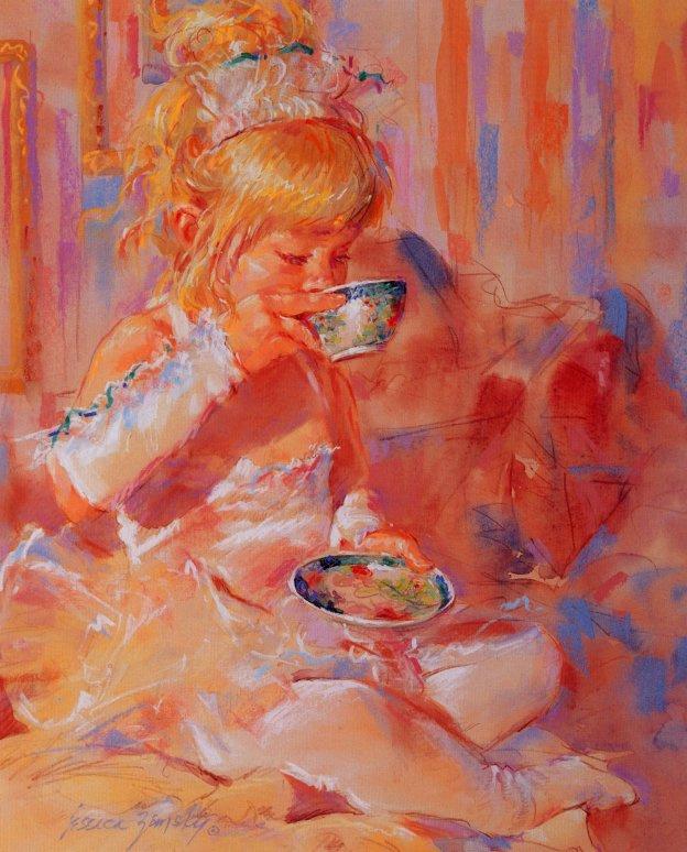 Джессика Земски. Чашка с блюдцем