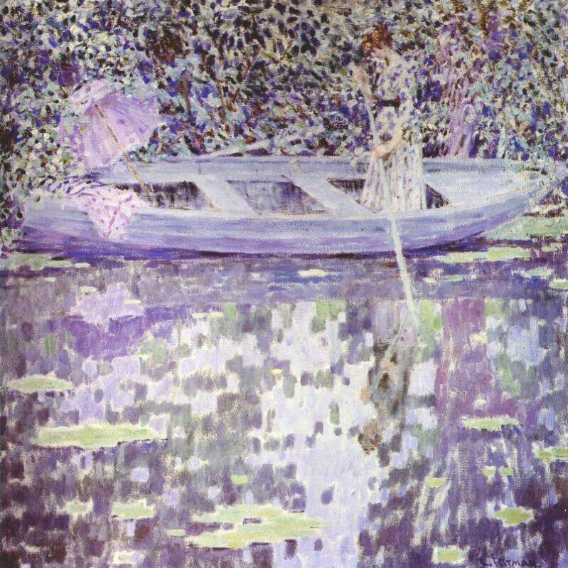 Louis Ritman. On the boat