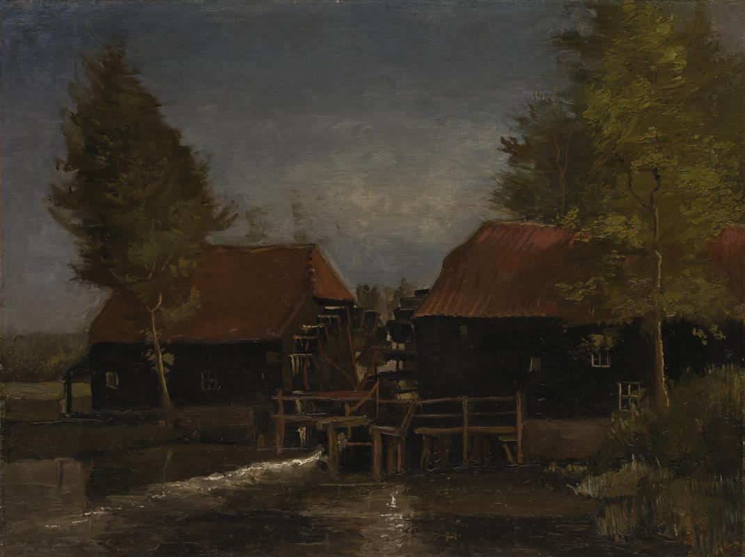 Винсент Ван Гог. Водяная мельница в Коллене