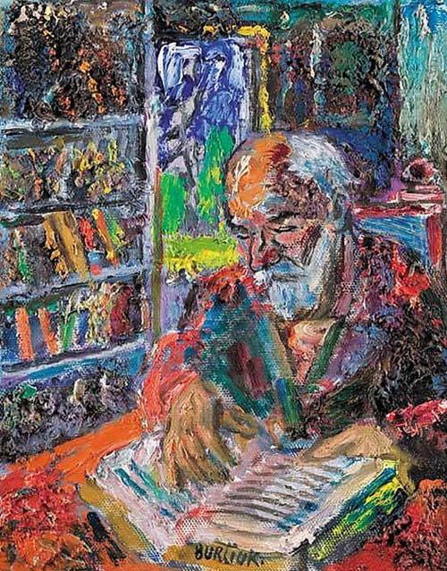 David Davidovich Burliuk. Reading