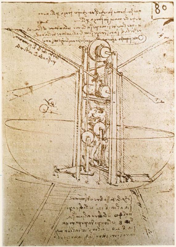 Леонардо да Винчи. Летательный аппарат