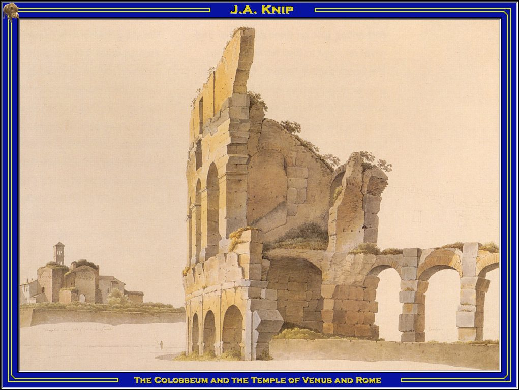 Knip. Colosseum and temple of Venus
