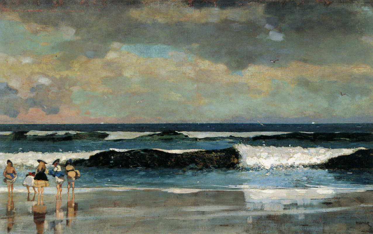 Winslow Homer. On the beach