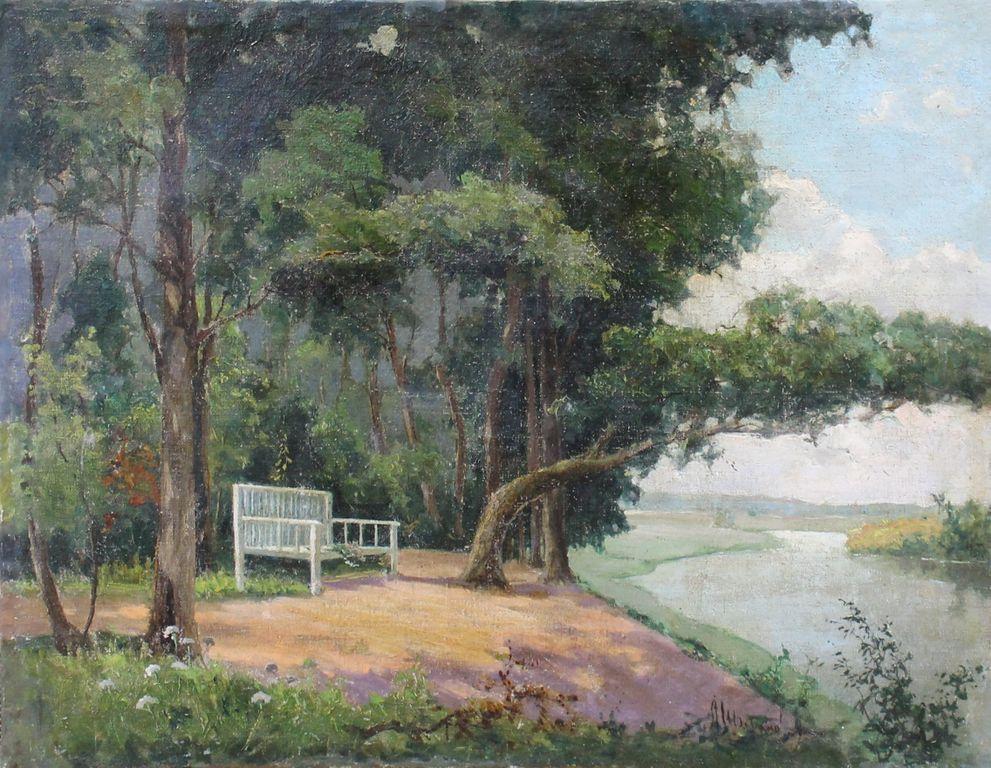 Alexander Borisovich Shibanov. Onegin's bench