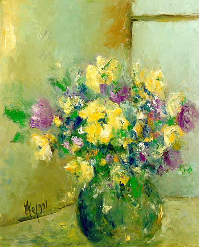 Мари Ромеро Кампо. Букет цветов 4