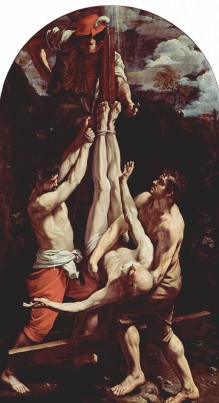Гвидо Рени. Распятие апостола Петра