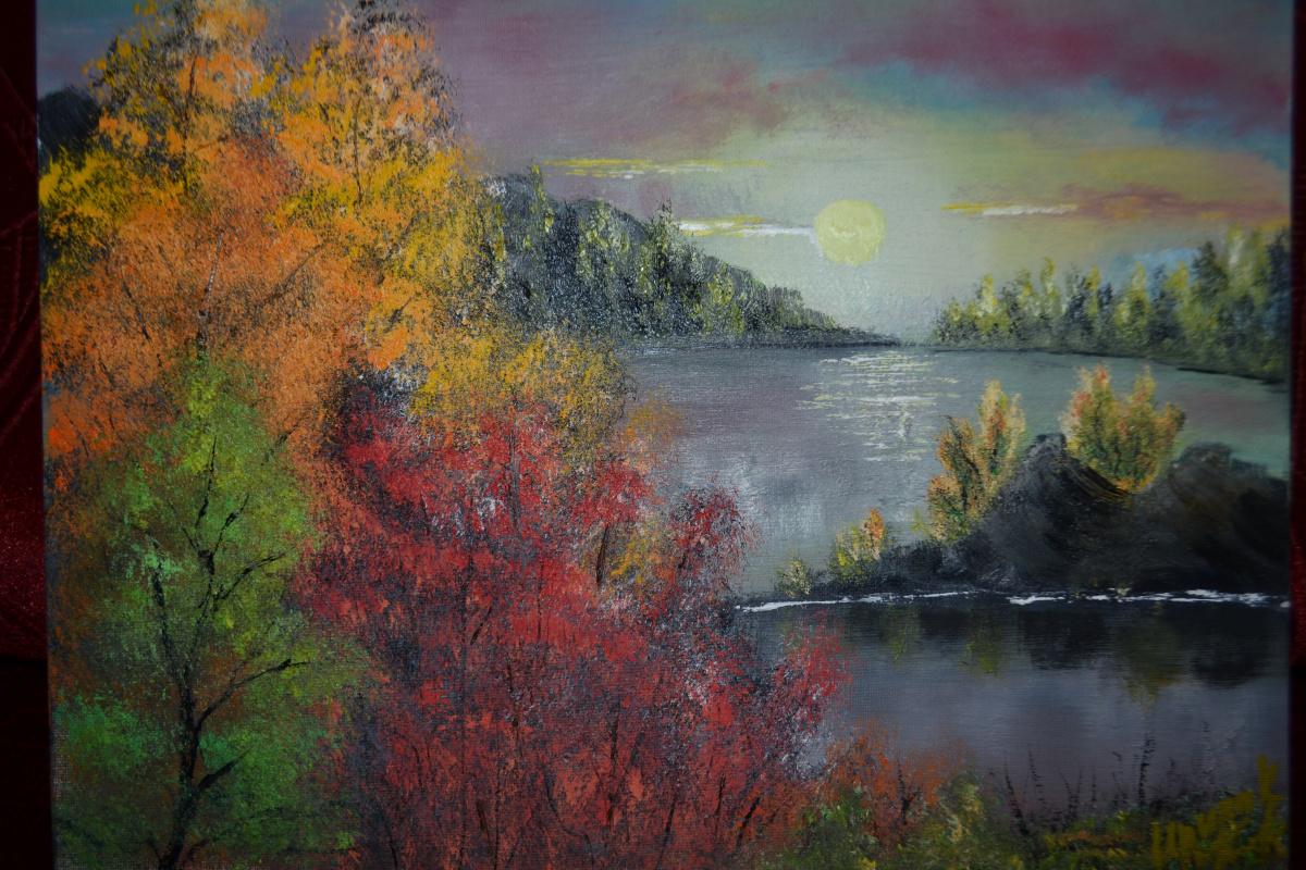 Irina Sergeevna Kononova. Lake