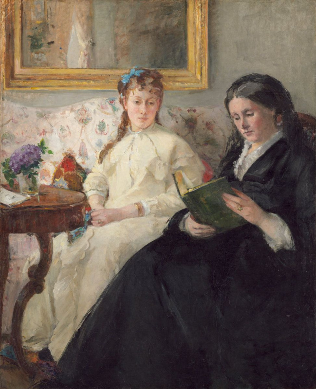 Berthe Morisot. The mother and sister of the artist