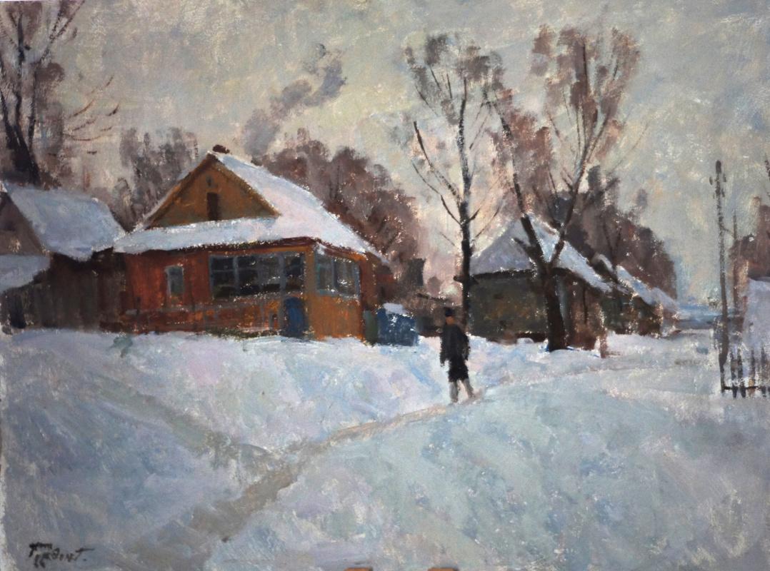 Gordon Meerovich Grigory (1909 - 1995). City near Moscow