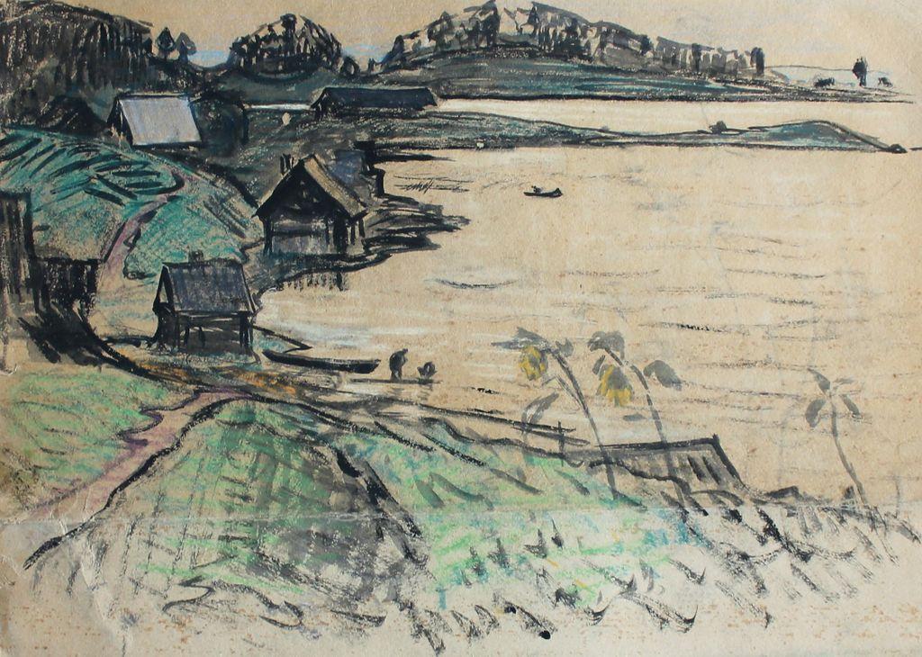 Eugene Nikolaevich Tihanovich. Landscape