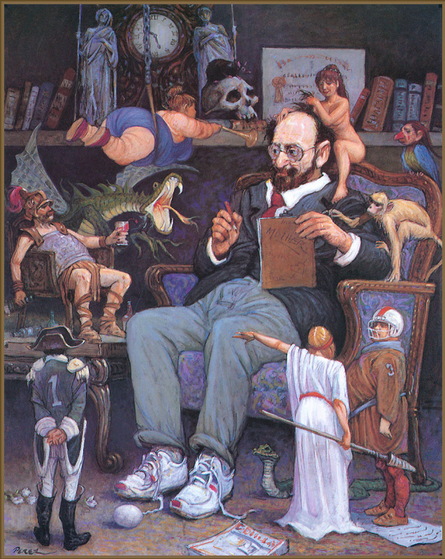 Франсиско Хосе Перес Маседо. Психиатр