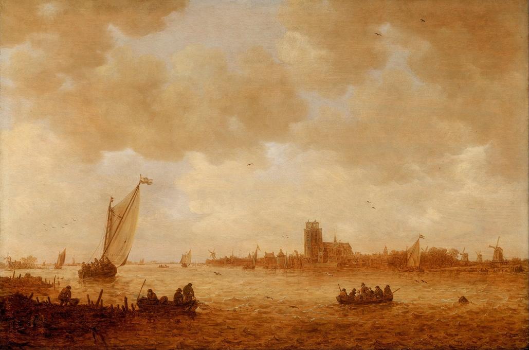 Jan van Goyen. View Of Dordrecht