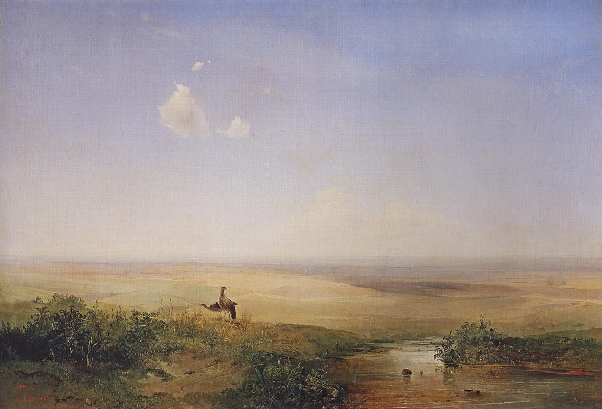 Alexey The Kondratyevich Savrasov. Steppe day