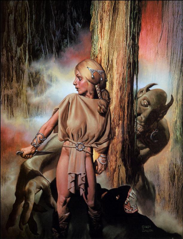 Ричард Корбен. Демон в лесу