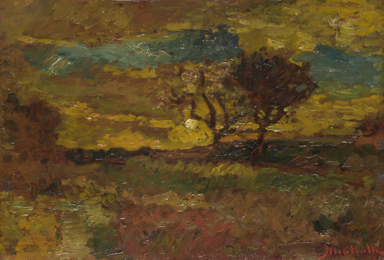 Адольф Монтичелли. Восход солнца