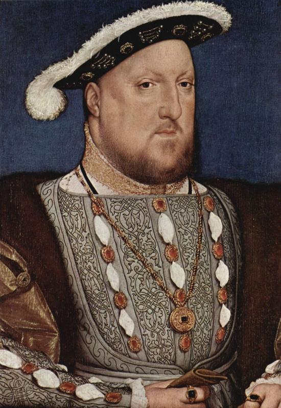 Ганс Гольбейн Младший. Портрет Генриха VIII, короля Англии