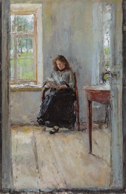 Valentin Serov. Window