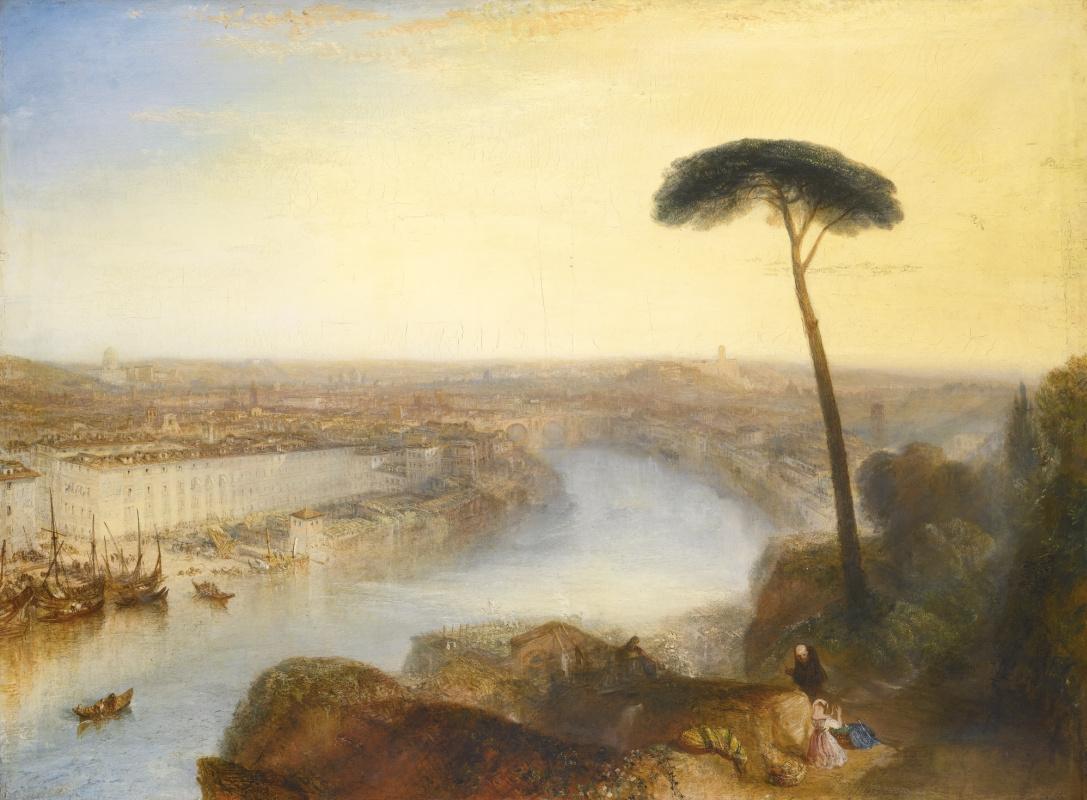 Джозеф Мэллорд Уильям Тёрнер. Вид на Рим с холма Авентин