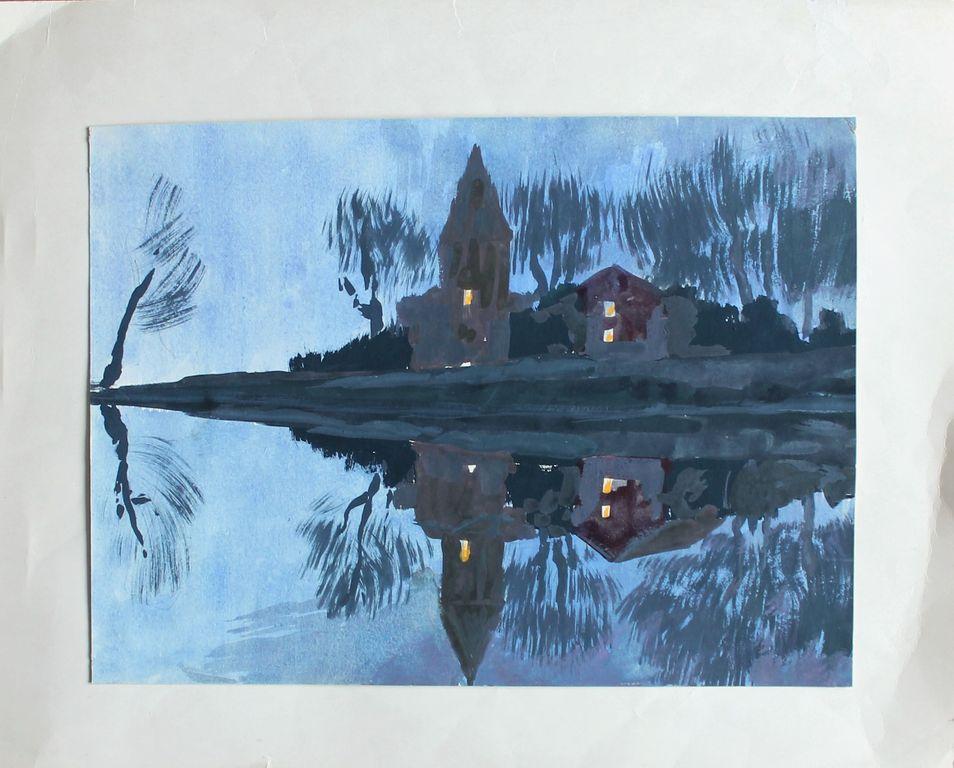 Andrey Sergeyevich Bantikov. Night landscape