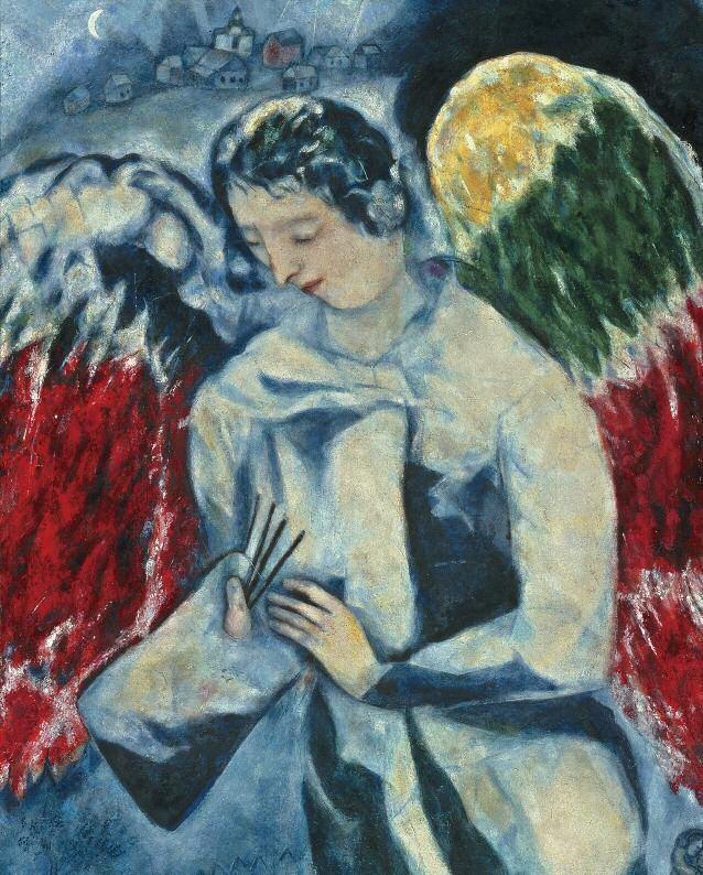 Ангел с палитрой