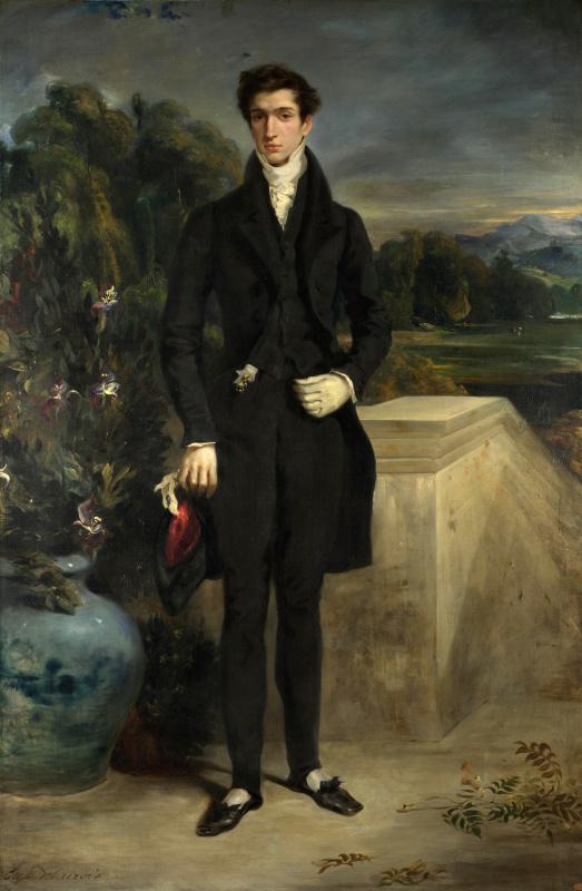 Eugene Delacroix. Louis-Auguste Sweater