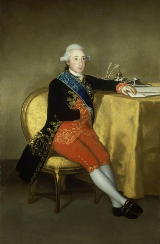 Франсиско Гойя. Портрет графа Альтамира