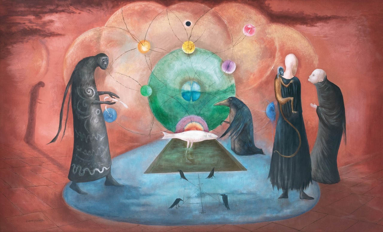 Leonora Carrington. Virginia fish