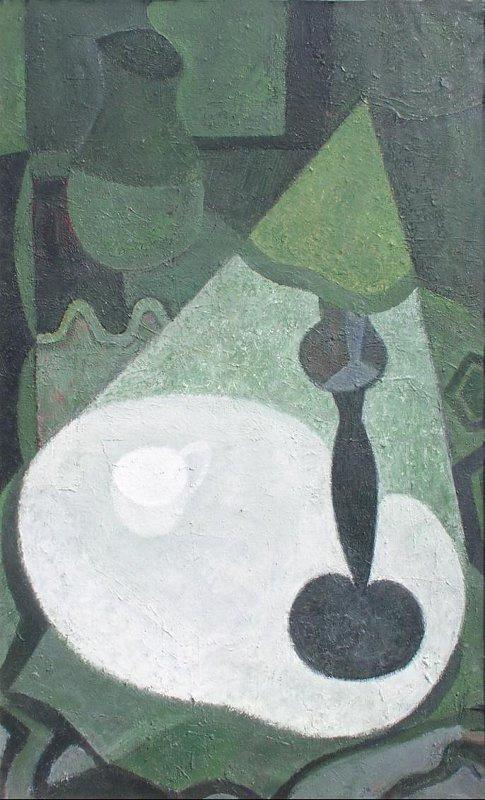 Андрей Борисович Гросицкий. Still life with lamp